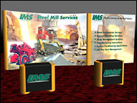 3D Modeling for IMS of Trade Show Booth